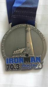 IM 70.3 Racine - finisher medal
